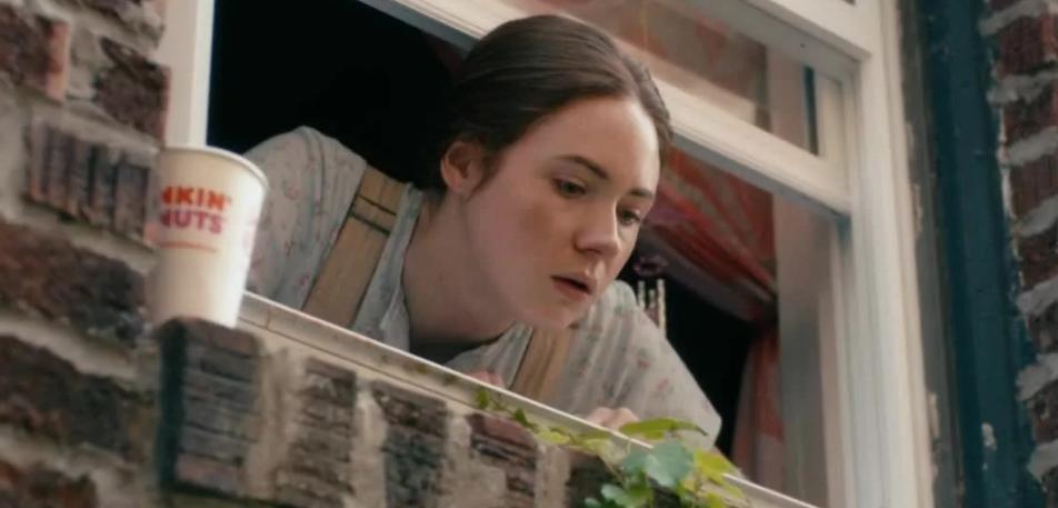 Шотландская киноактриса Карен Гиллан в роли слабоумной Руби. Фильм Все существа находятся внизу.