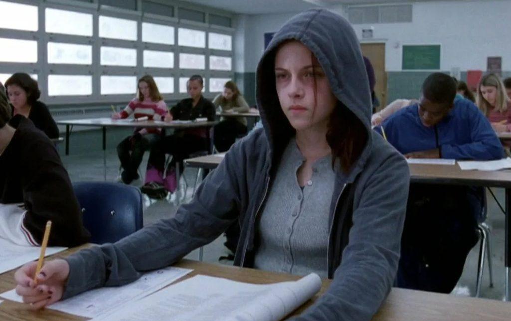 Киноактриса Кристен Стюарт в молодости.
