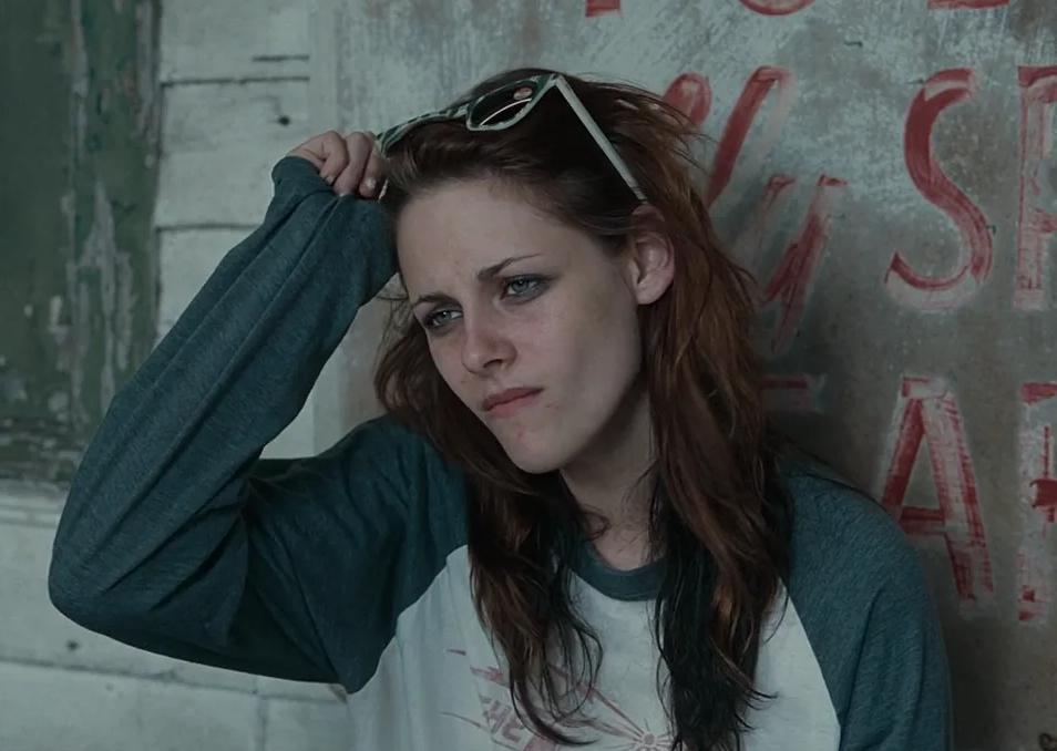 Киноактриса Кристен Стюарт в печальном образе.