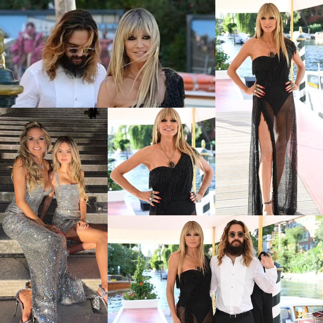 Read more about the article Хайди Клум показала фигуру в 48 лет на показе «Dolce & Gabbana» с участием ее дочери Лени