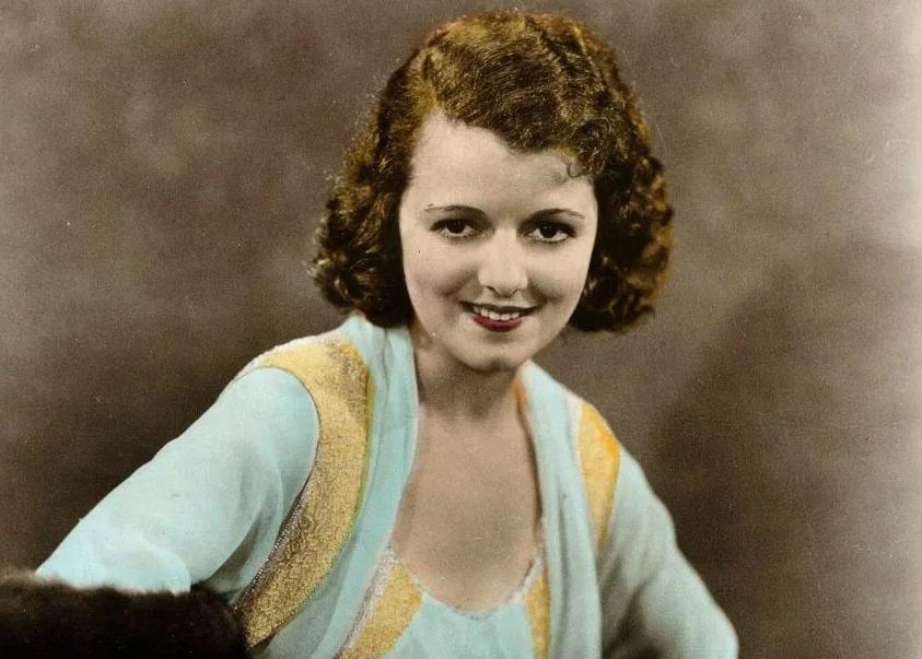 Киноактриса начала 20-го века Джанет Гейнор. Первая актриса Оскар.