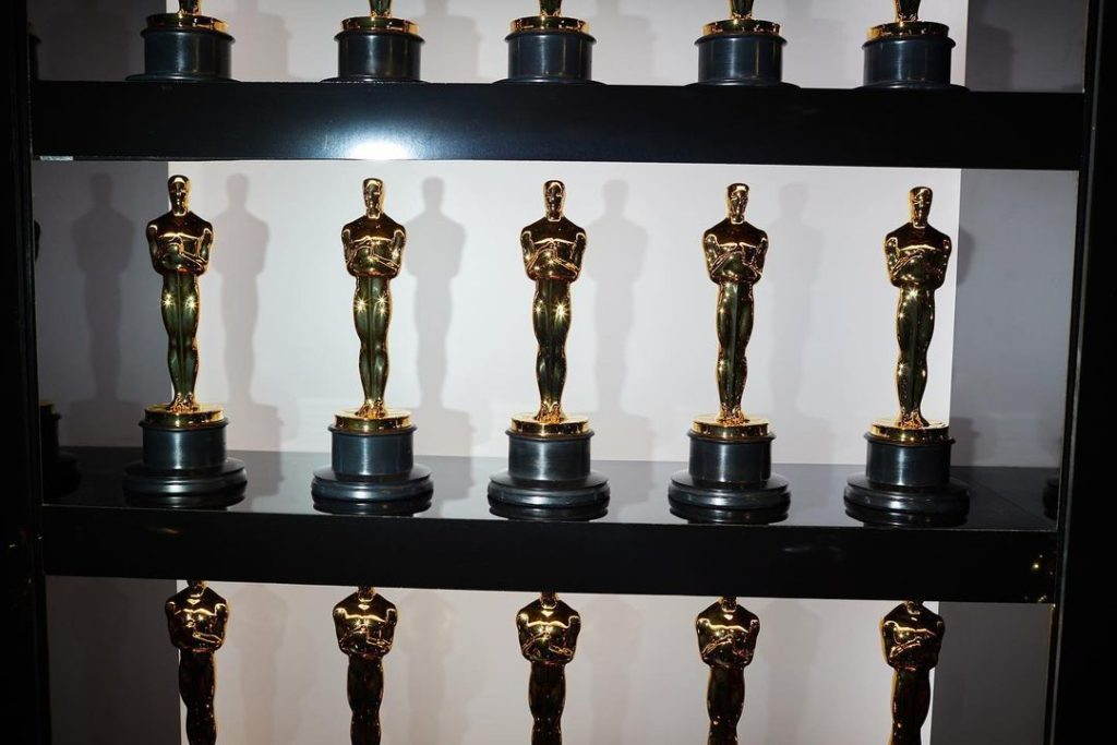 Статуэтки премии Оскар.