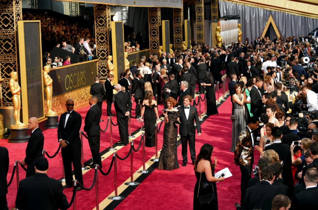 Зал премии Оскар в Лос-Анджелесе. Театр Долби.