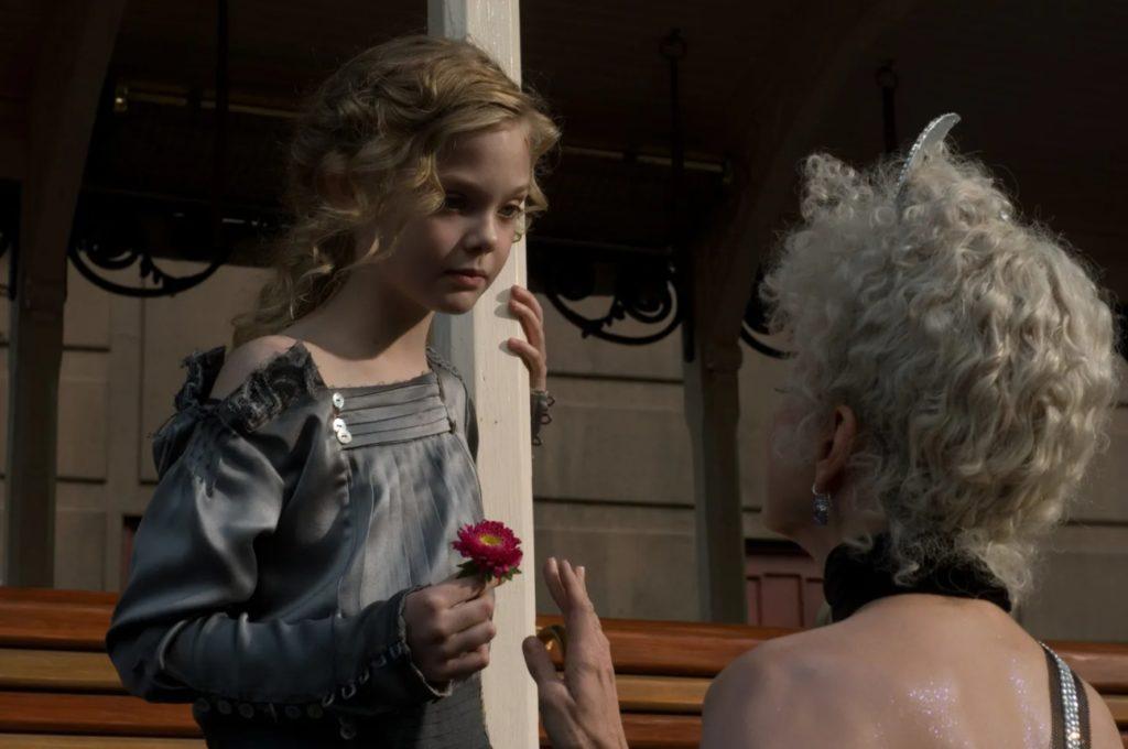 Актриса Эль Фаннинг в детстве.