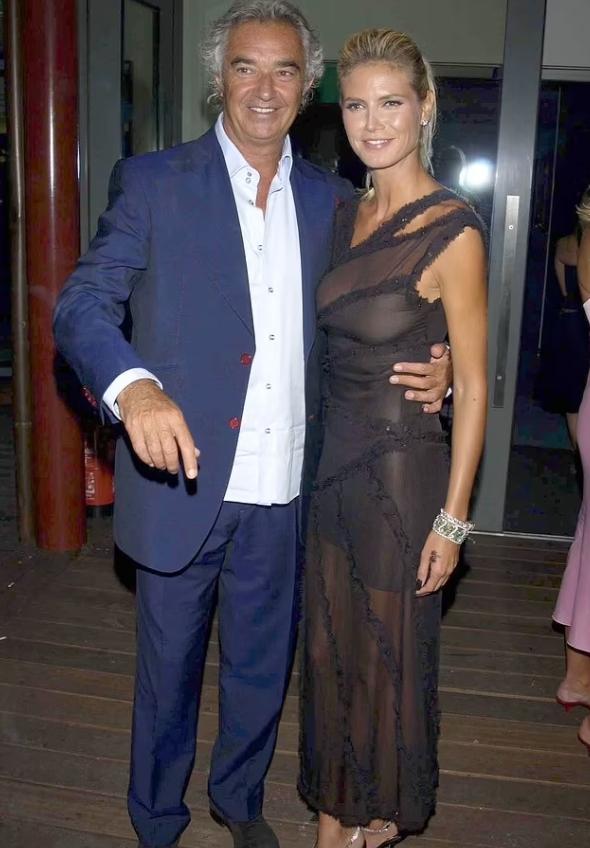 Родители Лени Клум.