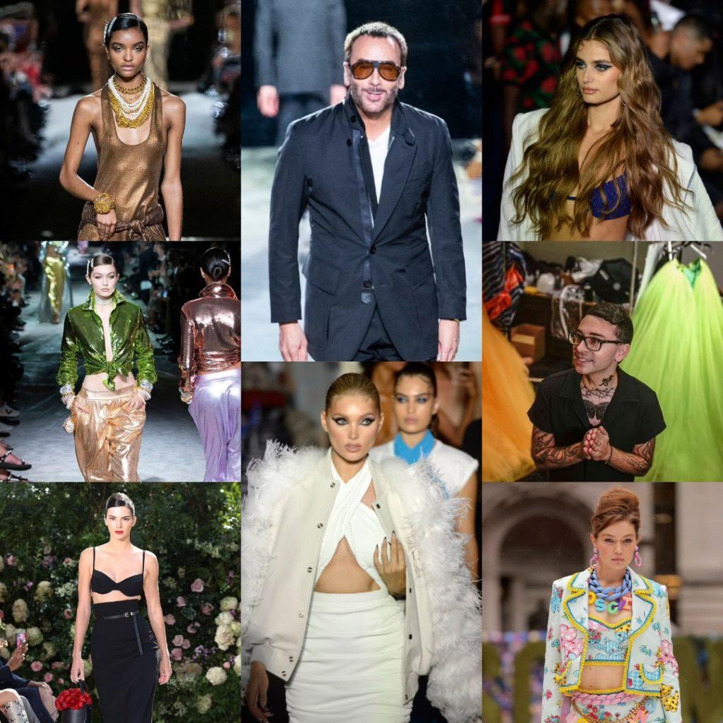 Сентябрьская Неделя моды 2021 в Нью-Йорке.