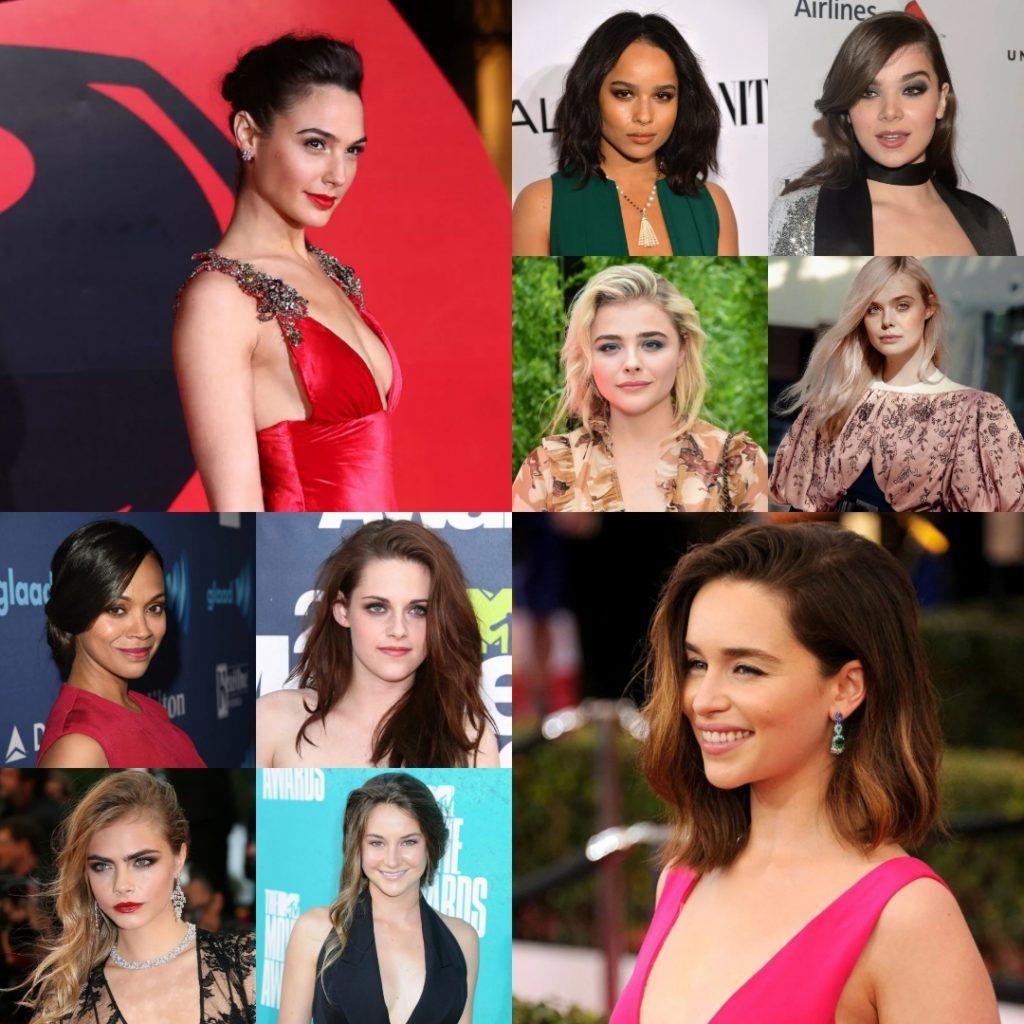 Популярные актрисы Голливуда