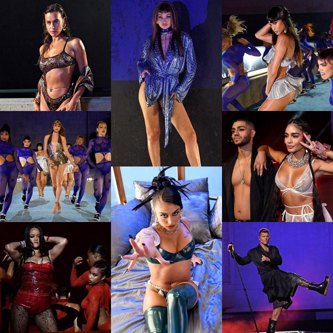 Read more about the article Savage X Fenty 2021: Рианна, Ирина Шейк и Джиджи Хадид показывают фигуру на «диком» шоу