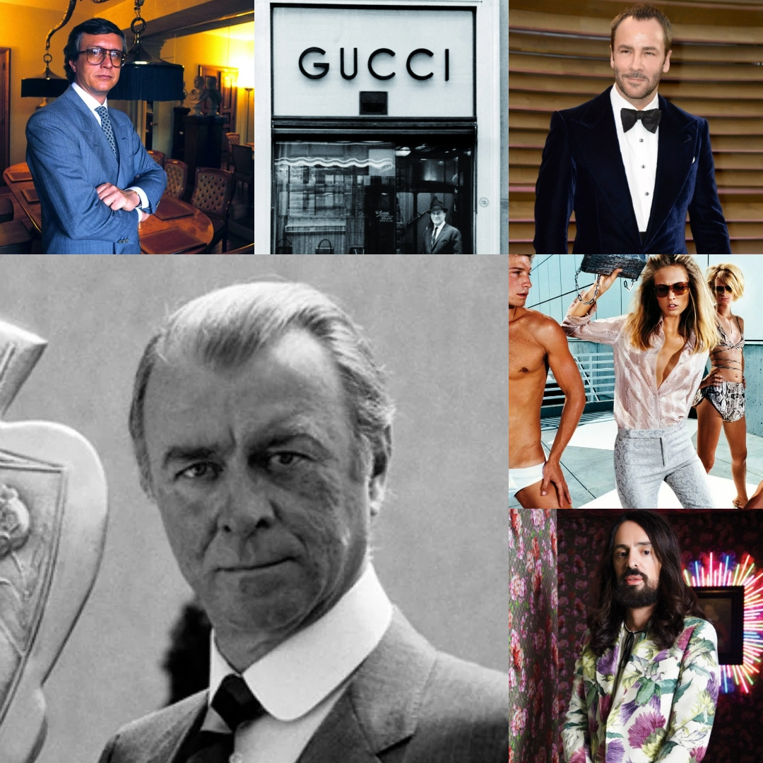 Read more about the article Итальянский модельер Гуччио Гуччи и история Дома моды «Gucci»