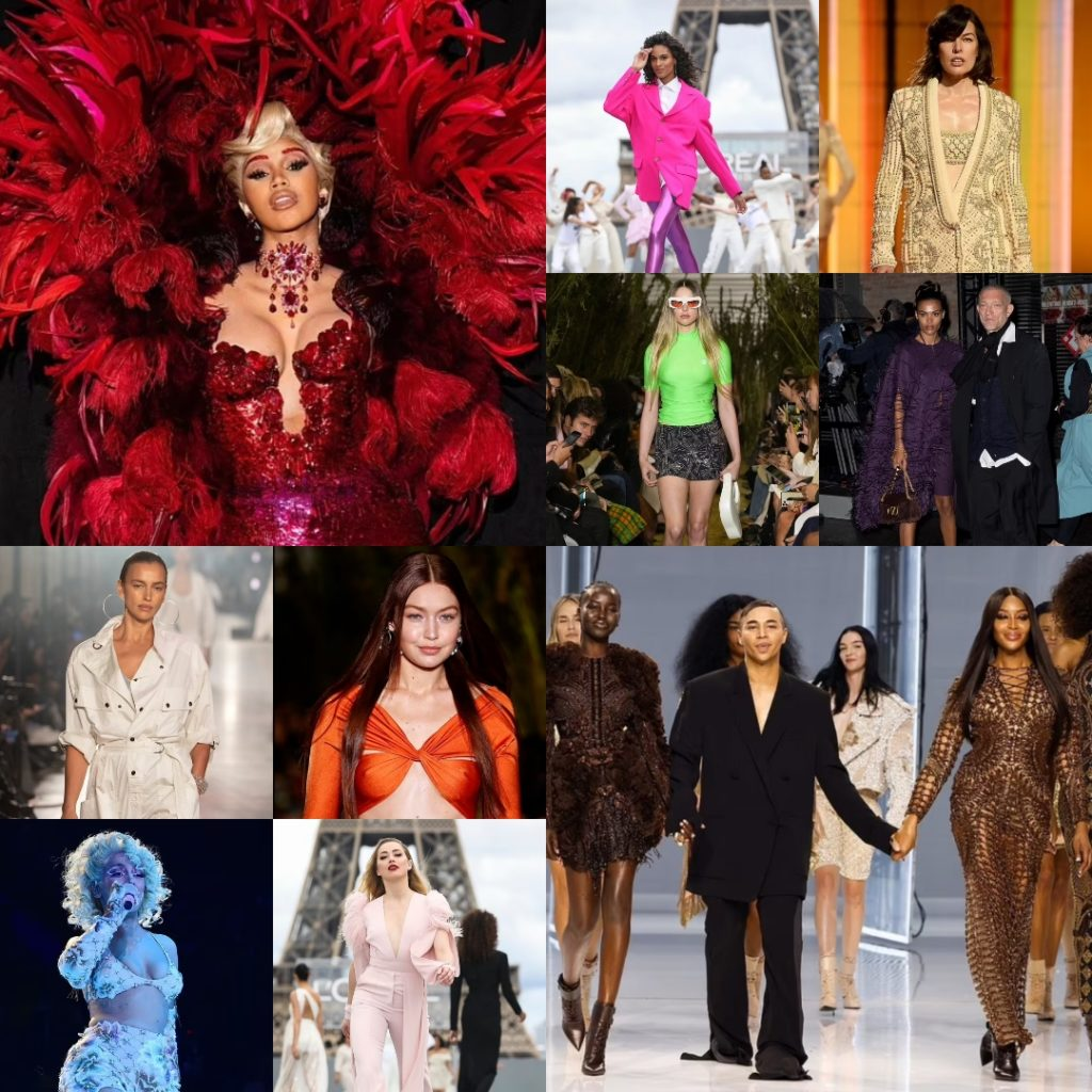 Неделя моды в Париже осенью 2021 года.